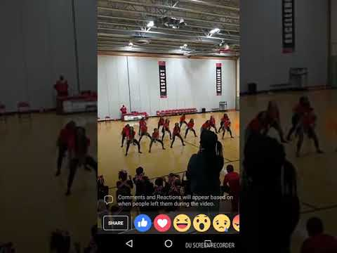 Stonybrook middle School step team fusion Elite 2017
