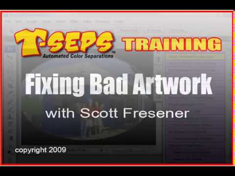 T-Seps Fixing Bad Artwork