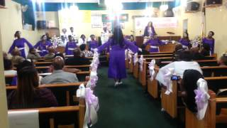 Let go let god-DeWayne Woods By. Cornerstone Praise Dance Ministy Troops