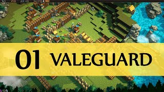 ValeGuard Gameplay PC Let's Play Part 1 (DEFENSIVE STRATEGY)