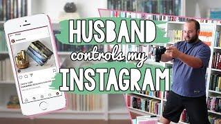 HUSBAND RUNS MY BOOKSTAGRAM FOR A MONTH