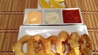Fried Calamari-How To Cook Calamari-Muc Chien-Seafood Recipes