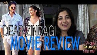 Dear zindagi review || shahrukh khan || alia bhatt || gauri shinde ||
