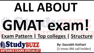 Top 10 MBA - All about GMAT exam | Exam pattern | Top Colleges | Sectional structure