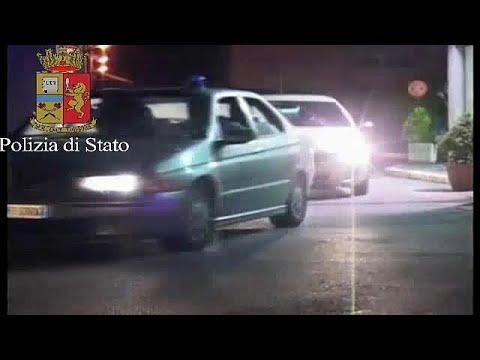 Italian police raid Chinese mafia