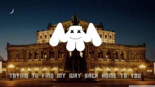 Marshmello - Alone ( Lyrics Video )