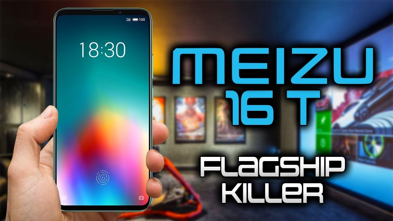 A gaming phone for only $ 282! - Meizu 16T