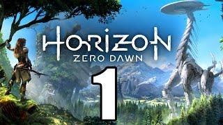 HORIZON ZERO DAWN Gameplay German - 1 - DIE AUSGESTOßENE | Let