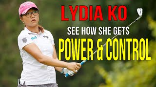Lydia Ko - Golf Swing Analysis with awesome power and control