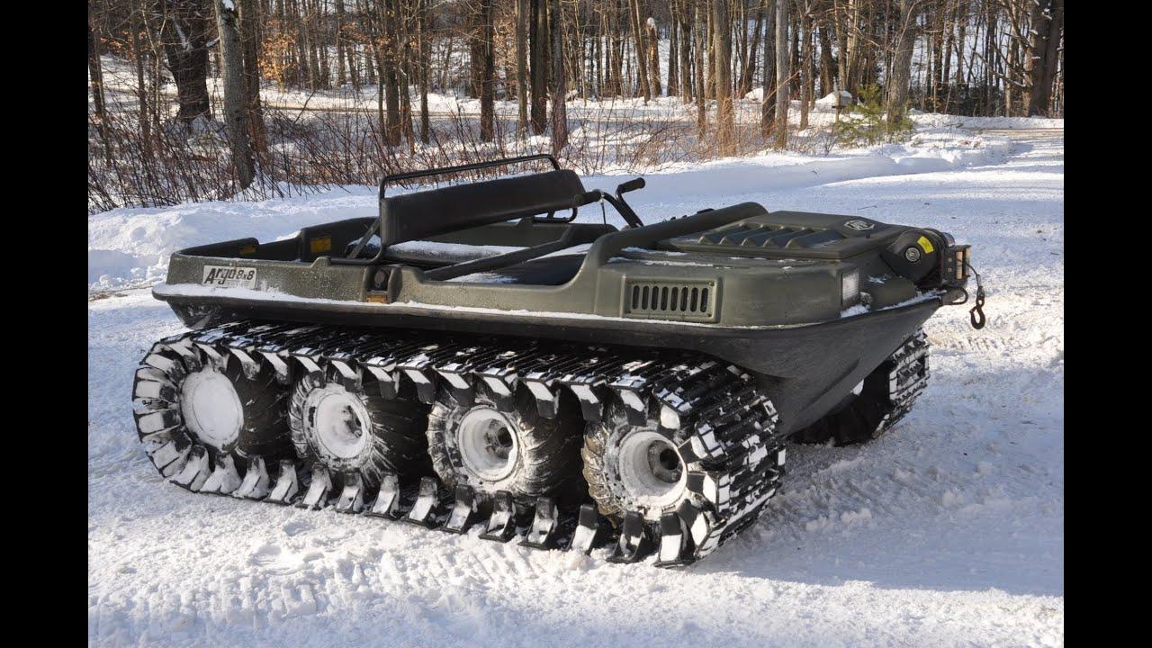Argo Response 8x8 Aatv Amphibious Machine With Tracks