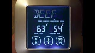 Обзор  цифрового кухонного термометра TS 82 для мяса