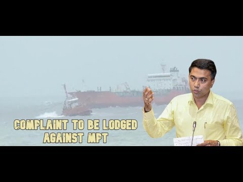 """I Have Ordered For The Arrests Of MPT & Unmanned Ship's Captain"" - CM Pramod Sawant"