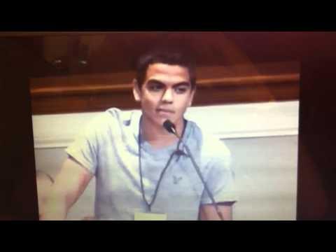 My speech on my summer experience