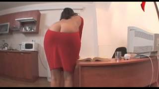 Repeat youtube video Naked and Funny. Decollete behind