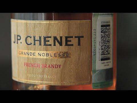 Бренди J.P. Chenet X.O (Жан Поль Шене) (Магнит) (18+)