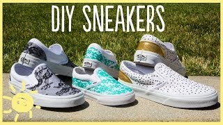 DIY | Sneakers (Cute and Easy!!)