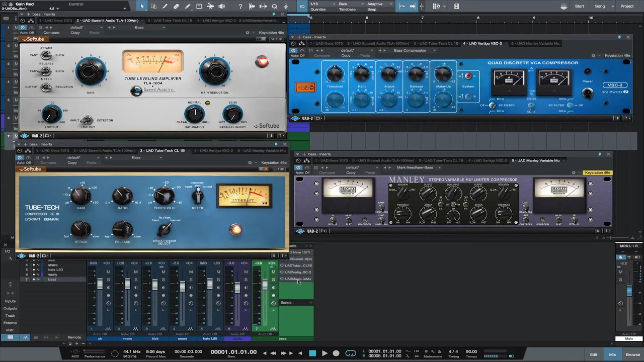 Uad on bass part three compression youtube stopboris Image collections