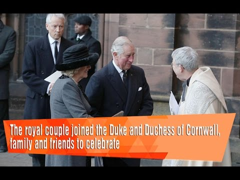 The Royal Couple Joined The Duke And Duchess Of Cornwall, Family And Friends.