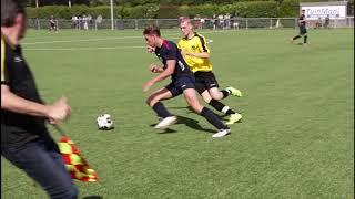 Diepenveen JO19-1 laatste wedstrijd tegen Colmschate