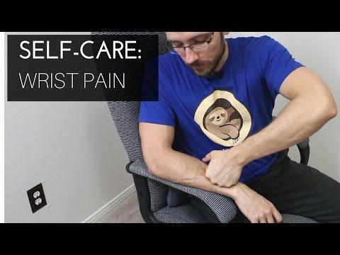 Massage therapist self-care: Wrist pain