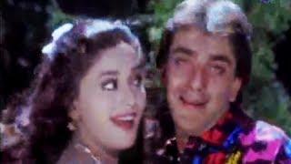Tu Gori Patli Paan - Superhit Romantic Love Song - Sanjay Dutt & Madhuri Dixit - Kanoon Apna Apna