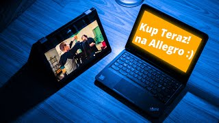 Ten laptop za 259zł to ZŁOTO ⭐Acer R11 + Lenovo Yoga 11e