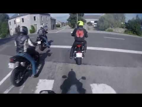 balade moto 200km