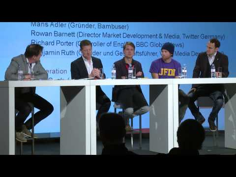 MEDIA CONVENTION Berlin 2014: The Future of News - The Crowd vs. the Editor