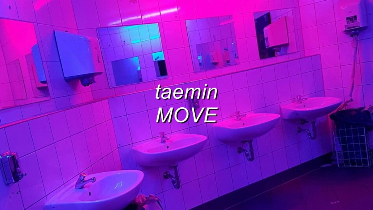 Taemin Move But Youre In A Bathroom At A Party YouTube - Party in the bathroom
