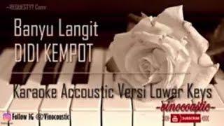 Gambar cover Didi Kempot - Banyu Langit Karaoke Akustik Versi Lower Keys