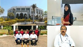 DR Mariya Hannan Ko Table Tennis Me Pahla Makaam...! Bijapur News 11-08-2019
