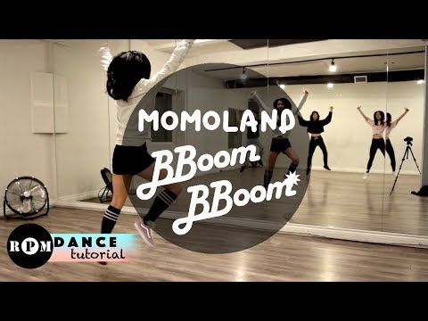 "MOMOLAND ""BBoom BBoom"" Dance Tutorial (Intro, Chorus, Breakdown)"
