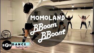 "MOMOLAND ""BBoom BBoom"" Dance Tutorial (Intro, Chorus, Breakdown)"