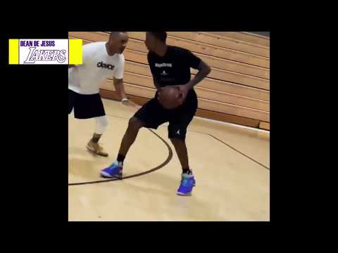 Lakers: KCP is back in the gym