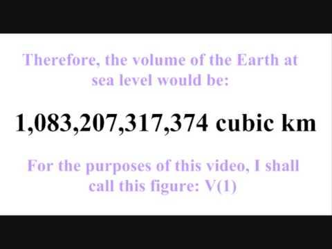 Biblical Flood - Where did the water go?