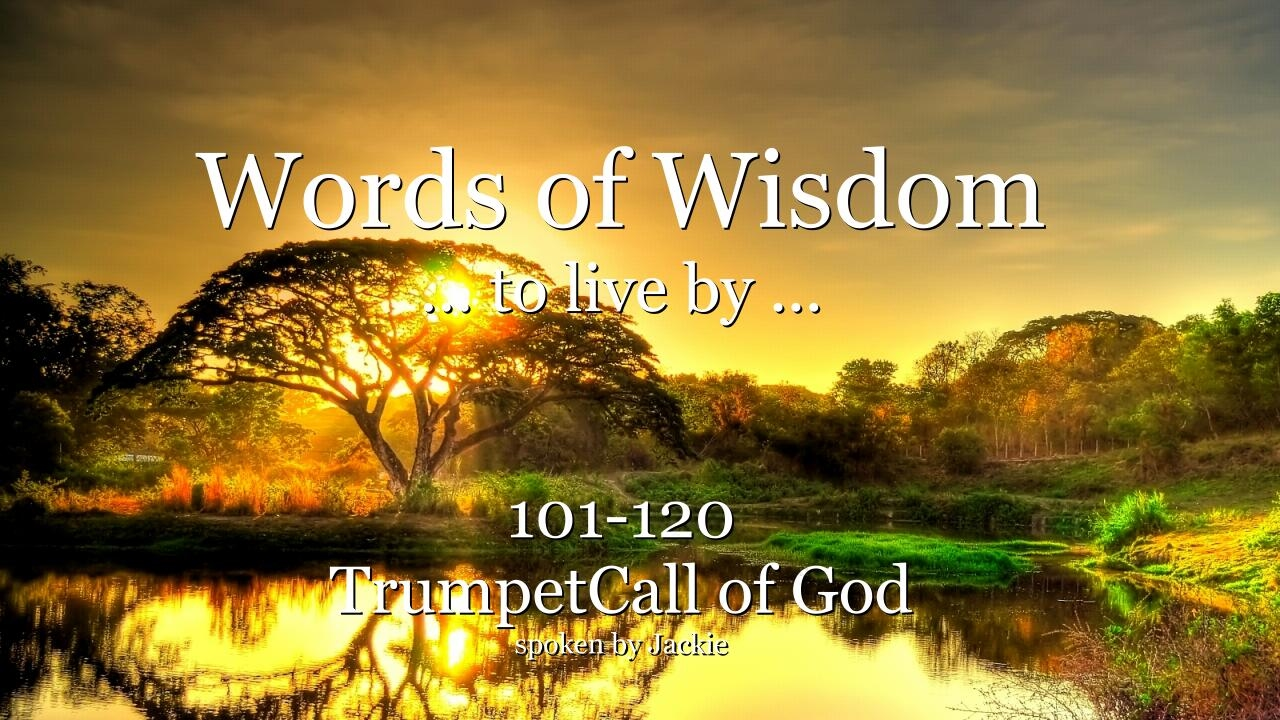 words wisdom yahushua hamashiach jesus messiah trumpet god