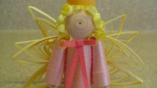 Quilling with Yoyomax12: QUILLED ANGEL