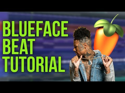 🔥 [FLP] BLUEFACE BEAT TUTORIAL | How To Make West Coast Type Beats From Scratch in FL Studio