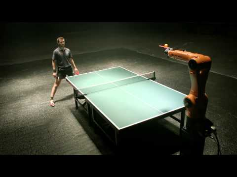 German ping pong champion to play against industrial robot next month