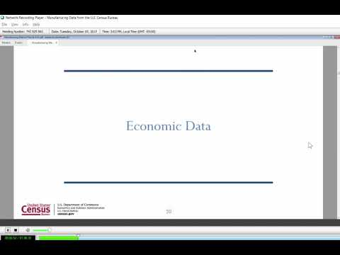 Manufacturing Data From The U.S. Census Bureau