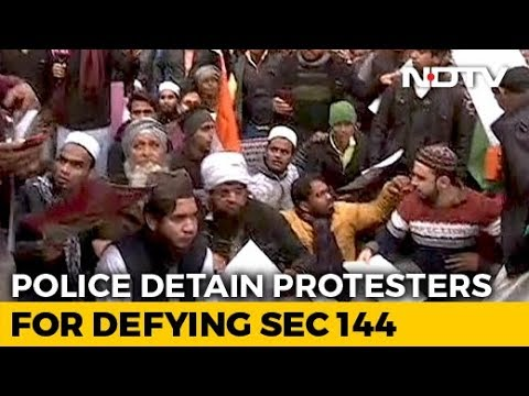 Citizenship Amendment Act: Protesters Detained Near Red Fort Ahead Of Citizenship Act March