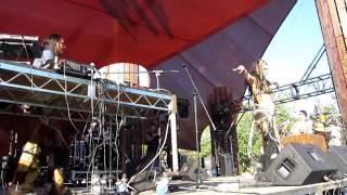 Sherri Wheatley Tribal Bellydance-- David Starfire and Ensemble @ Lightning in a Bottle 2010