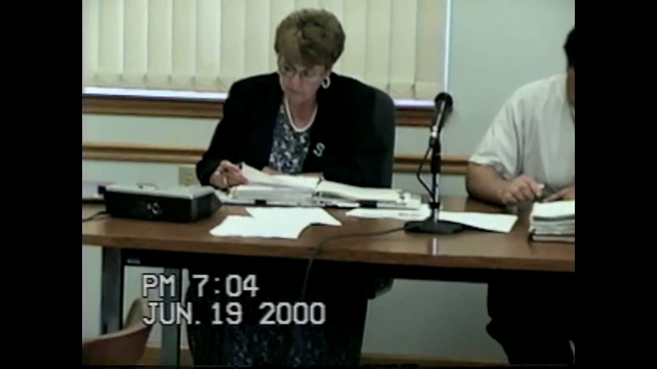 Rouses Point Village Board Meeting  6-19-00