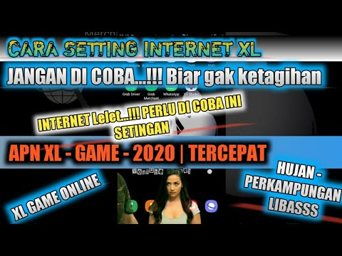Setting Internet Apn Xl Game Internet Ngebut 2020 Xl Youtube