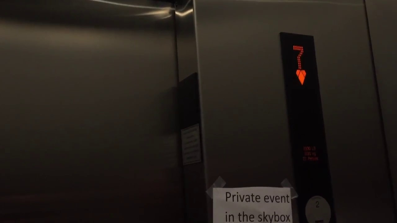 ULTRA FAST KONE Alta Traction Elevators w/ 25th Floor Views @ ICON  Condominiums, San Diego, CA