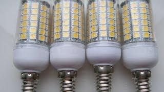 Only China order - Светодиодная лампа E14 15W #18 Aliexpress(Куплен в магазине Aliexpress. Цена, на момент покупки была 18,55$ за 4шт Светодиодная лампа: http://ru.aliexpress.com/item/2014-New-69led..., 2014-05-15T15:12:37.000Z)