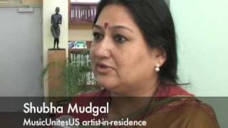 Hindustani musician Shubha Mudgal visits Brandeis