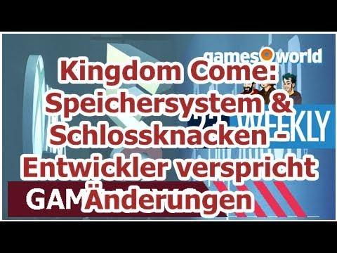 Kingdom Come: Speichersystem & Schlossknacken - Entwickler verspricht Änderungen