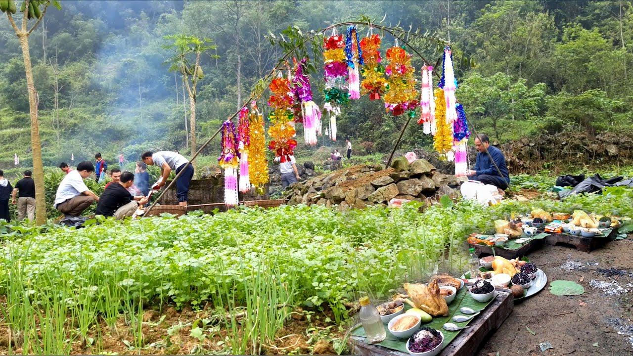 Tập 2. Lễ Tảo Mộ Tiết Thanh Minh Của Dân Tộc Tày – Nùng Ở Quảng Hòa, Cao Bằng. Ẩm Thực dân Tày Nùng