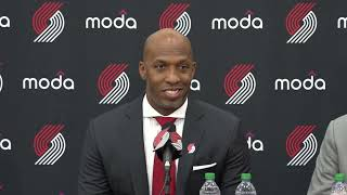 Download Chauncey Billups Introductory Press Conference